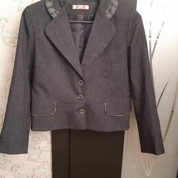 Комплекты и форма - Пиджак школьный для девочки, 0