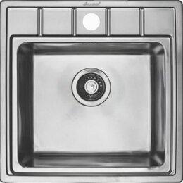 Кухонные мойки - Кухонная мойка Seaman Eco Roma SMR-5050A, 0