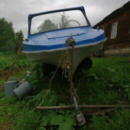 Моторные лодки и катера - Обь м лодка 30 сильным мотором, 0