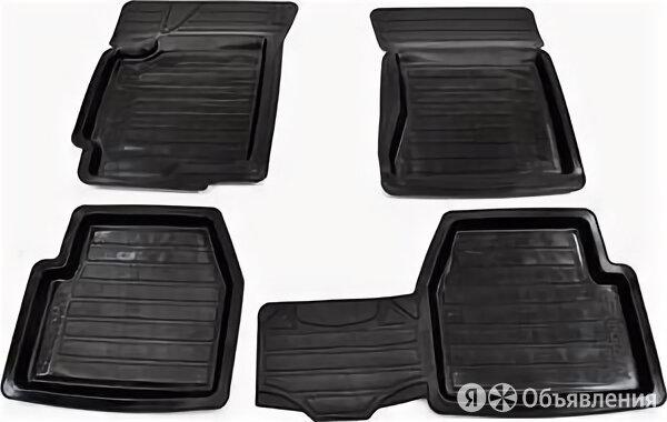 Комплект универсальных резиновых ковриков «Элегант», черный по цене 1440₽ - Дизайн, изготовление и реставрация товаров, фото 0