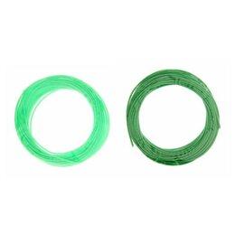 Расходные материалы для 3D печати - Пластик PCL для 3D ручки, длина: 5 м, цвета зеленого МИКС, 0
