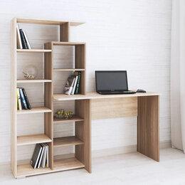 Компьютерные и письменные столы - Стол компьютерный квартет-4 ясень Шимо 💥 0728💥, 0
