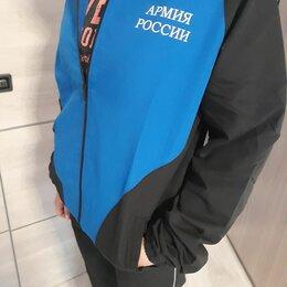 Спортивные костюмы - Спортивный костюм Армия России синий черный новый, 0