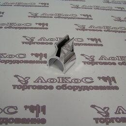 Сопутствующие товары - Держатель стекла вертикальный плекси, металлизированное, JK36/R-20B, 0
