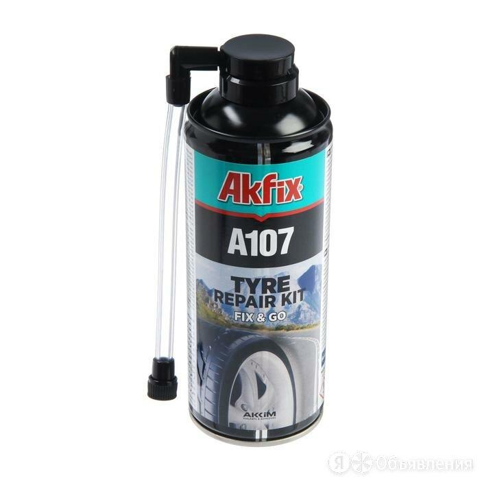 Герметик для ремонта Akfix А107, 300 мл по цене 918₽ - Изоляционные материалы, фото 0