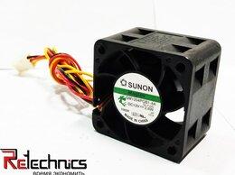 Кулеры и системы охлаждения - Вентилятор Sunon GM1204PQB1-8A 40x40x28 DC 12V 0.2, 0