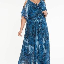 Платья - Платье шифоновое р.48, 0