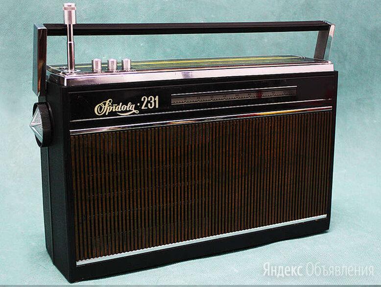 """Радио Приёмник """" Спидола 231 """" - обмены по цене 1500₽ - Радиоприемники, фото 0"""