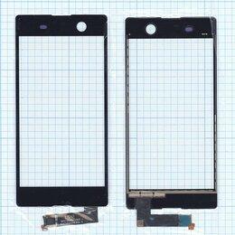 Дисплеи и тачскрины - Тачскрин для Sony Xperia M5 черное, 0