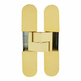 Межкомнатные двери - Петля дверная AGB E30200.02.03 ECLIPSE 3.0 полированная латунь (4 накладки в ..., 0