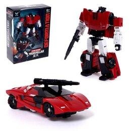 Роботы и трансформеры - Робот «Спорт бот», трансформируется, 0