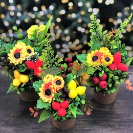 Цветы, букеты, композиции - Оригинальный осенний букет, 0