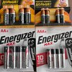 Батарейки алкалиновые энерджайзер и дюраселл  по цене 3120₽ - Батарейки, фото 1