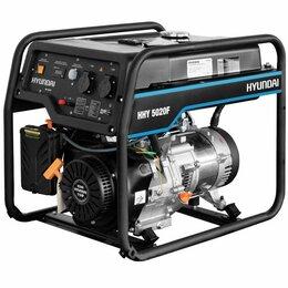 Электрогенераторы и станции - Бензиновый генератор Hyundai HHY5020F, 0