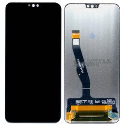 Дисплеи и тачскрины - Дисплей с тачскрином Huawei Honor 8X 2018 / Honor 9X Lite черный оригинал, 0