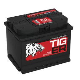 Аккумуляторы и комплектующие - Автомобильный аккумулятор Tiger X-treme(Тюмень) 60, 0