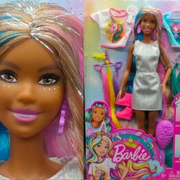 Куклы и пупсы - 🌹 Барби Негритянка, Единорожка, Русалочка, 0