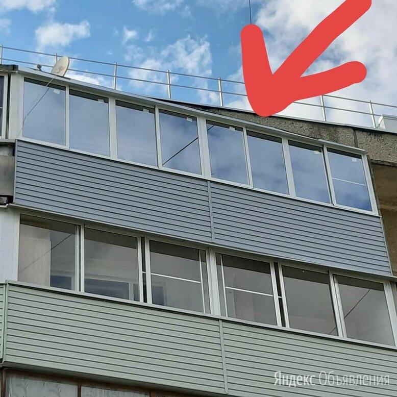 Алюминиевые окна на лоджию 6 метров в Рыбинске и отделка сайдингом , Идеал по цене 78000₽ - Окна, фото 0