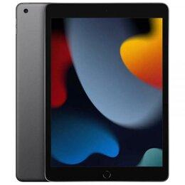 "Планшеты - Apple iPad 10,2"" (2021) Wi-Fi 256 ГБ, Space Gray  (Cерый космос), 0"