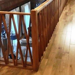 Лестницы и элементы лестниц - Деревянные ограждения и облицовка дубом, 0