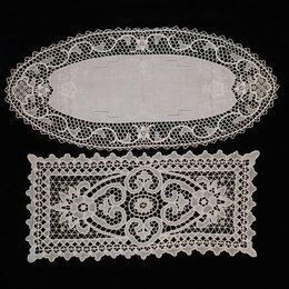 Скатерти и салфетки - Салфетки венецианское кружево, вышивка, винтаж., 0