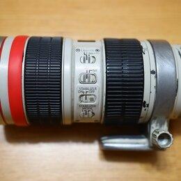 Объективы - Canon 70-200 2.8 is usm, 0