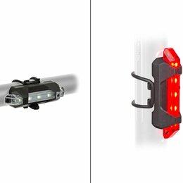Фонари - Фонари велосипедные AUTHOR Stake Mini USB, быстросъемные, комплект, USB Li-ion, 0