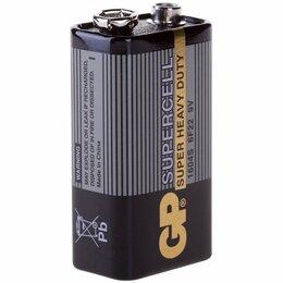 Батарейки - Батарейка GP Supercell MN1604 (6F22) Крона, солевая, OS1, 0