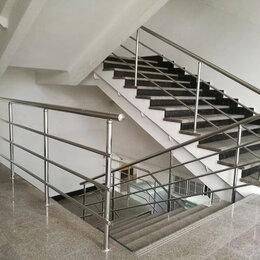 Лестницы и элементы лестниц - Перила, поручни, ограждения из нержавеющей стали, 0