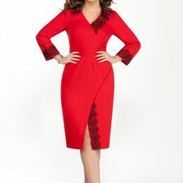 Платья - Платье 2040 TEZA красное Модель: 2040, 0