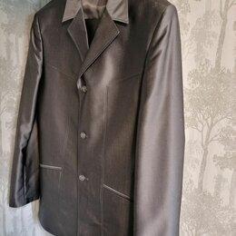 Костюмы - Мужской костюм серого цвета 46 р-р, 0
