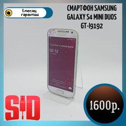 Мобильные телефоны - Смартфон Samsung Galaxy S4 mini Duos GT-I9192, 0