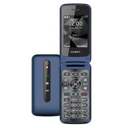 Проводные телефоны - Телефон teXet TM-408 (синий), 0