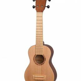 Настольные игры - Poni USL-BR укулеле сопрано, цвет коричневый, 0