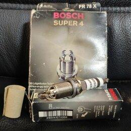 Двигатель и топливная система  - Комплект свечи Bosch Super-4 FR 78 4 шт., 0