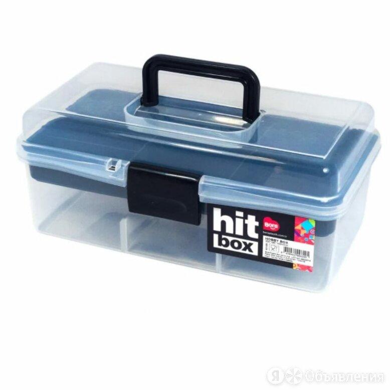 Контейнер для рукоделия BORA ПЛ-BO820c по цене 1317₽ - Упаковочные материалы, фото 0