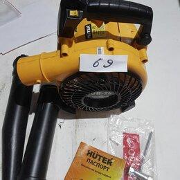 Воздуходувки и садовые пылесосы - Воздуходувка бензиновая GB-26 HUTER №69, 0