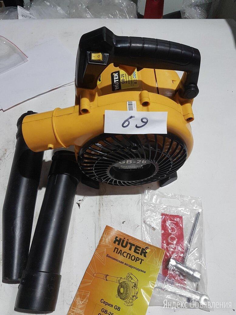 Воздуходувка бензиновая GB-26 HUTER №69 по цене 5508₽ - Воздуходувки и садовые пылесосы, фото 0