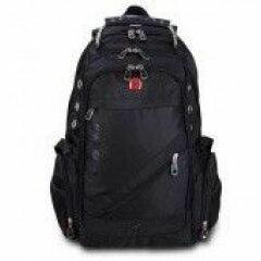 Рюкзаки - Рюкзак Grizzly 31*48*24см, 2отд, 4карм. черн. RU-035-1/1, 0