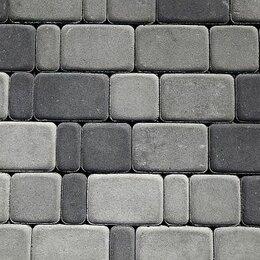 Тротуарная плитка, бордюр - Брусчатка, старый город толщиной 7 см, 0