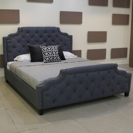 Кровати - Кровать с мягким изголовьем MARELLA B595 (180*200), 0
