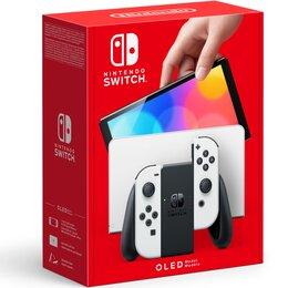 Аксессуары - Nintendo Игровая приставка Nintendo Switch OLED-Модель (белый), 0