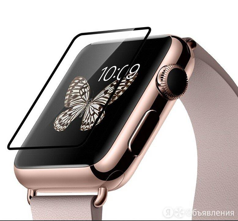 Защитное стекло для Apple Watch (38) 0.1mm HOCO Full Rim коробка черный по цене 485₽ - Защитные пленки и стекла, фото 0