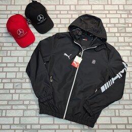Куртки - Ветровка Puma Mercedes AMG черная, 0