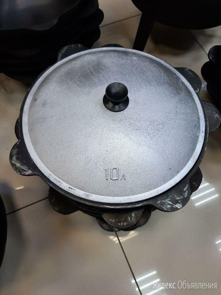 Чугунный казан 10л наманганский азиатский по цене 1700₽ - Казаны, тажины, фото 0