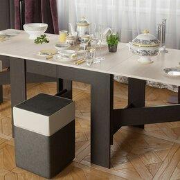 Столы и столики - Стол-книжка венге цаво дуб белфорт МЕГА вариант, 0