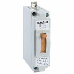 Пускатели, контакторы и аксессуары - Автоматический выключатель ВА-2129-340010-12In 6.3А, 0