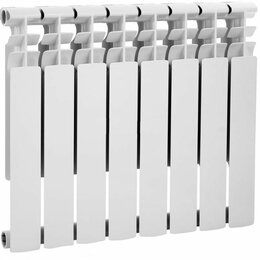 Радиаторы - Радиатор алюминиевый 500/80, 0