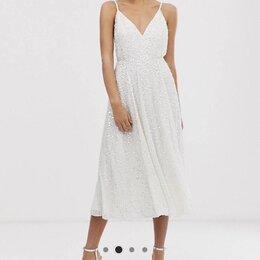 Платья - Свадебное платье миди на бретелях asos edition, 0