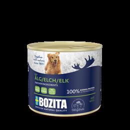 Корма  - BOZITA ELK консервы ПАШТЕТ С ЛОСЕМ.¶ 625гр , 0